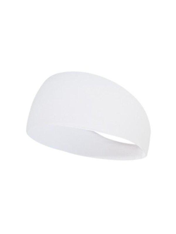 Sports Yoga Sweat Absorbent Fitness Headband - NATURAL WHITE B85-02