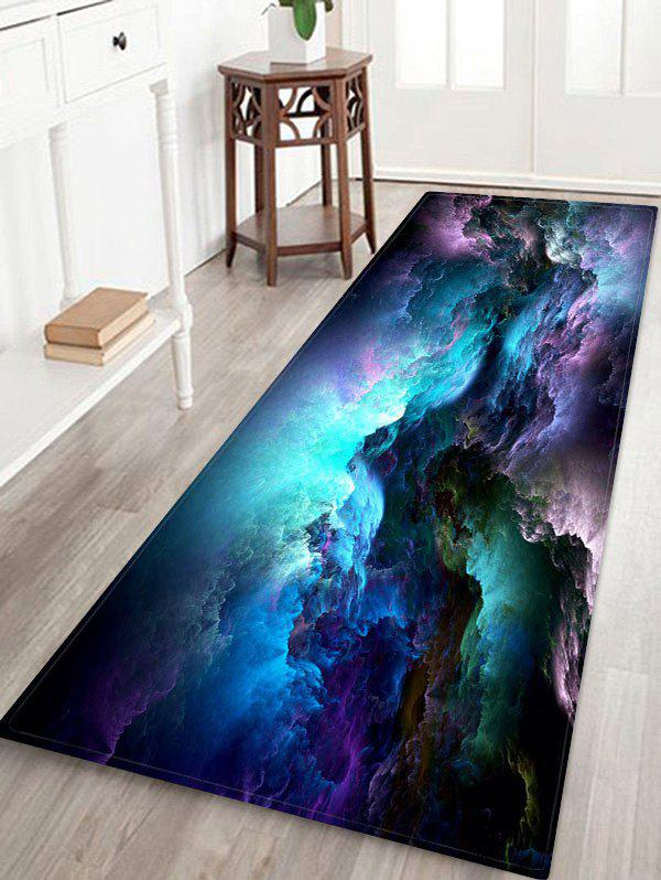 Tapis AbsorbantMotifdeNuages Galaxie - multicolor A W24 X L71 INCH
