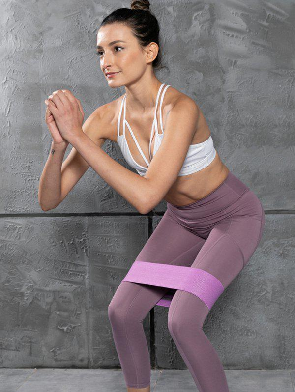 Yoga Stretch Band Hip Training Resistance Band - PURPLE