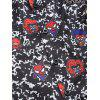 Marvel Spider-Man Cartoon Print Long Sleeve Shirt - BLACK M