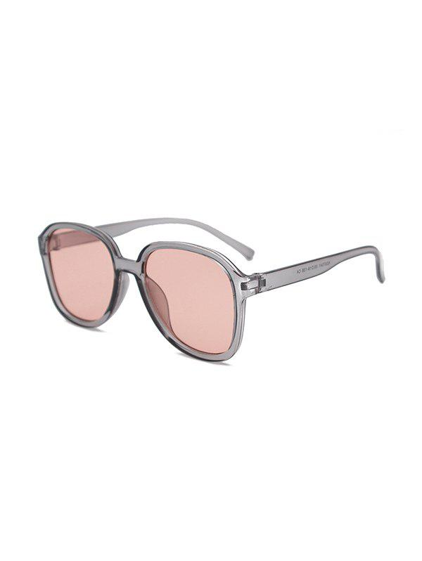 UV Protection Outdoor Square Sunglasses - GRAY CLOUD