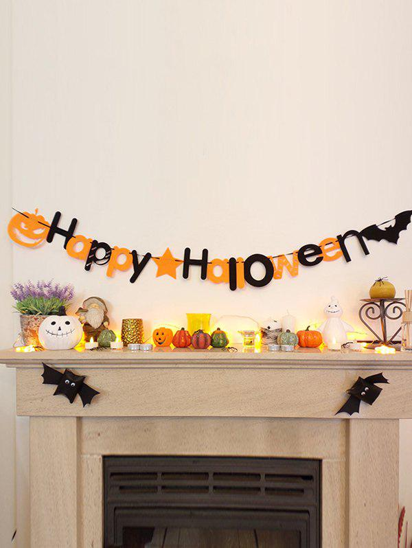 Halloween Wall Decoration Party Banner - multicolor