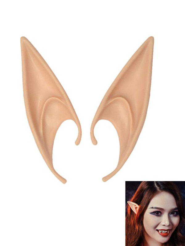 Halloween False Elf Ears - multicolor B 12CM