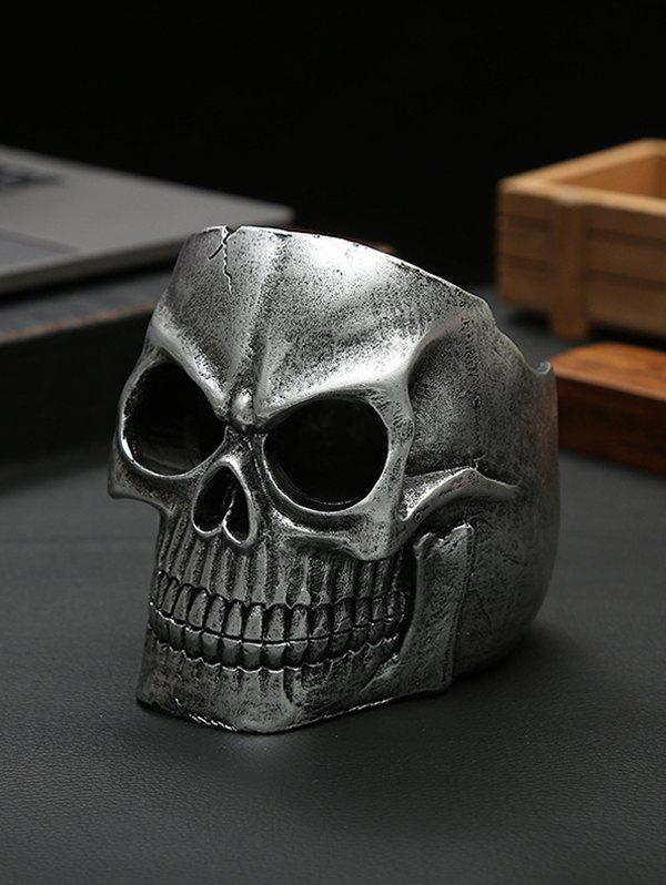 Halloween Decoration Scary Props Skull - multicolor A