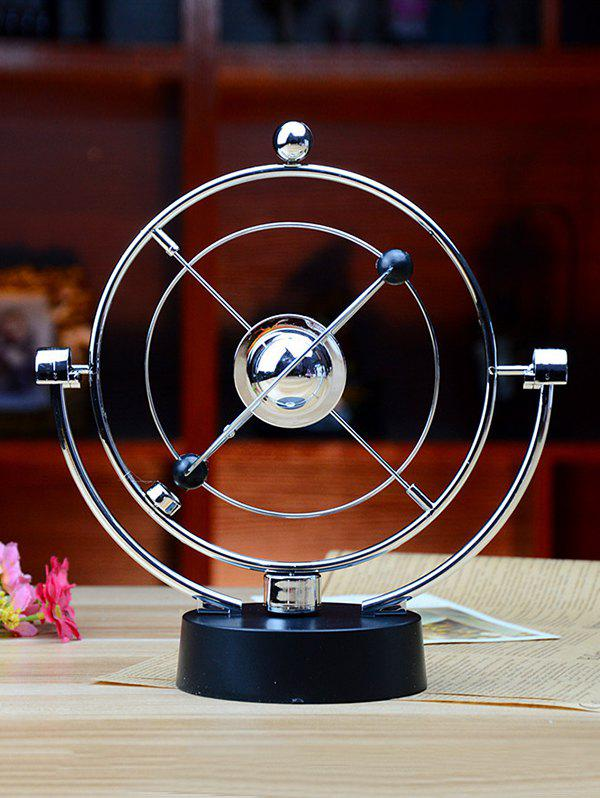 Desk Toy Decorative Planet Kinetic Electronic Perpetual Motion - multicolor A