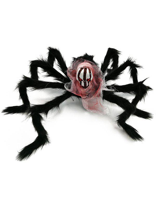Halloween Party 75CM Skull Spider Decoration - multicolor A