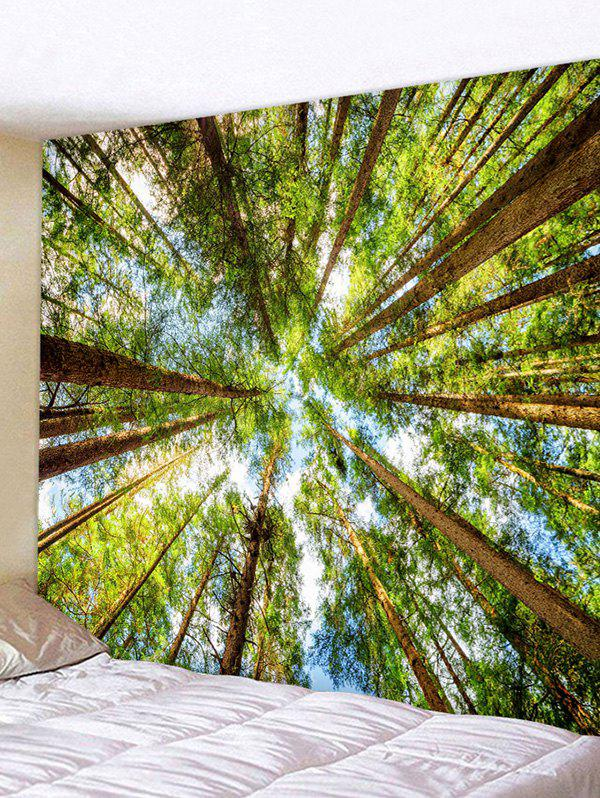Trees Pattern Home Decor Wall Tapestry - multicolor W59 X L51 INCH
