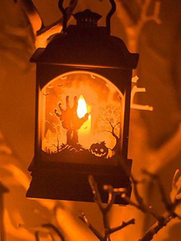 Halloween Decoration Bar LED Candle Lantern - multicolor A