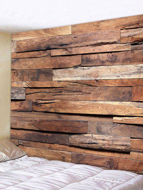 Retro Printing Wood Plank Wall Tapestry