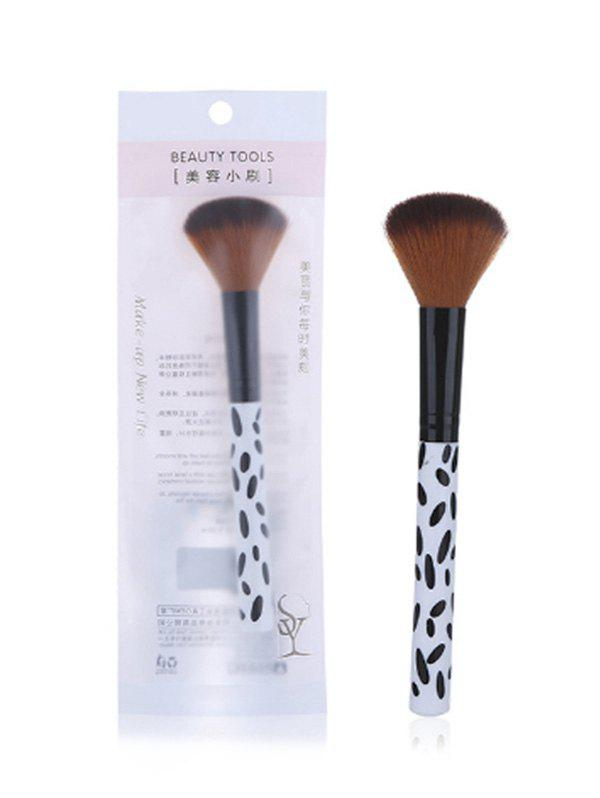 Single Beauty Tool Blush Brush - BROWN