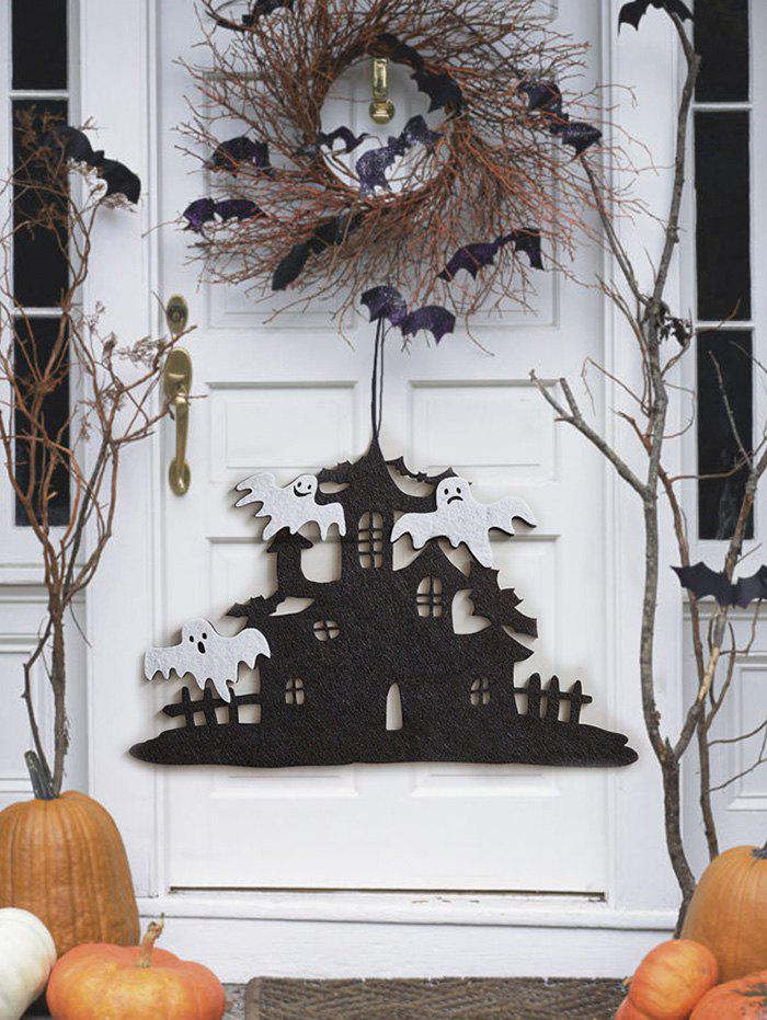 Halloween Party Haunted House Ghost Hanging Decor - BLACK