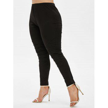 Plus Size High Rise Tapered Pants