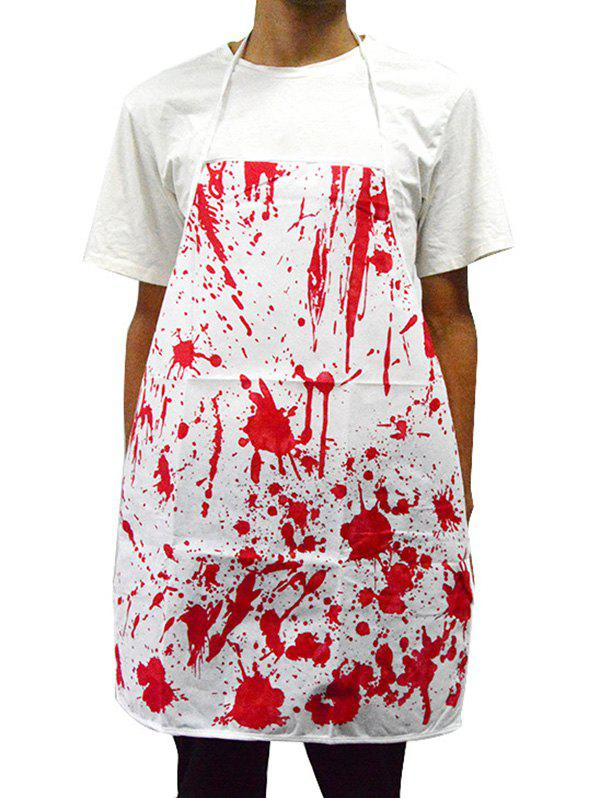 Halloween Horror Bloody Pattern Butcher Apron - multicolor A