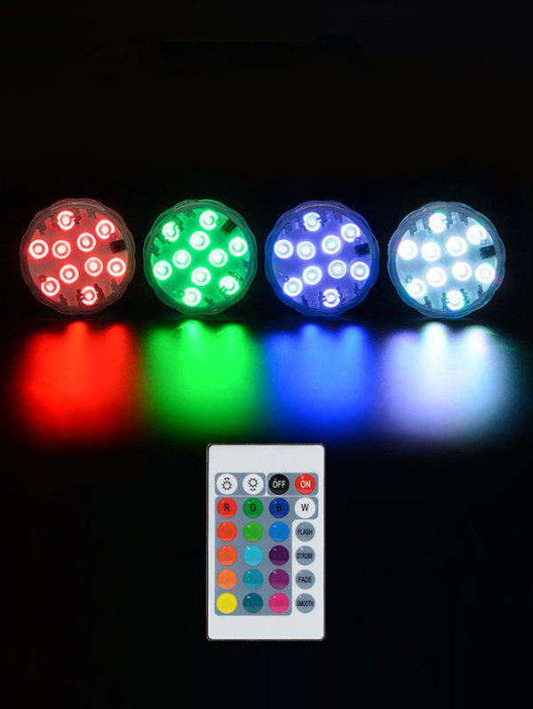 LED Diving Knob Waterproof Underwater Light - multicolor A