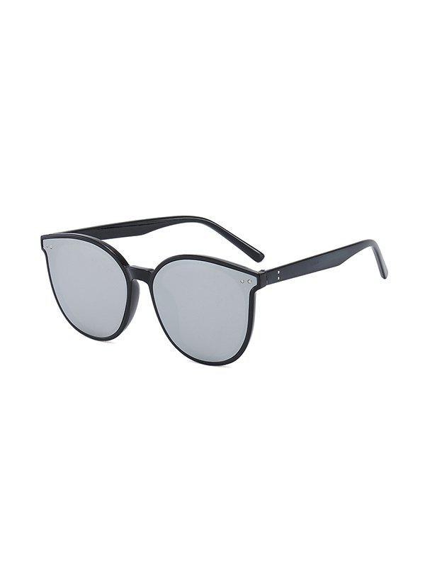 Anti UV Round Unisex Sunglasses - GRAPHITE BLACK