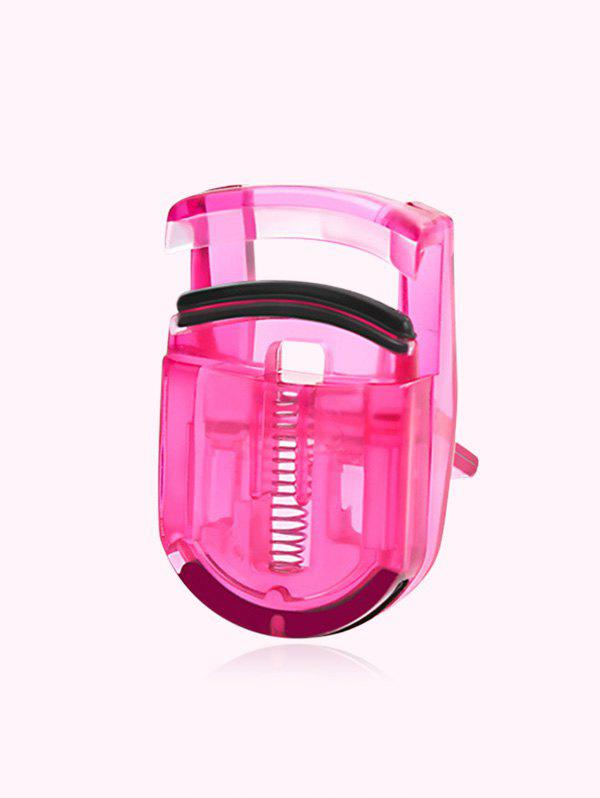 Portable Mini Naturally Curly Eyelash Curler - RED