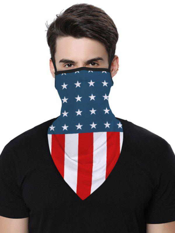 Sports Outdoor Flag Print Multifunction Mask Scarf - multicolor B