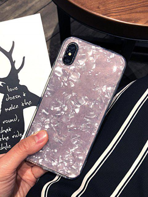 Shell Pattern Transparent Phone Case For IPhone XS