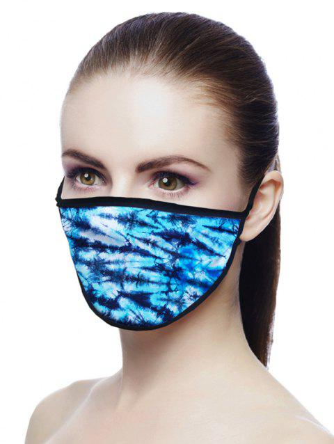 Tie Dye Air Layer Fabric Face Mask