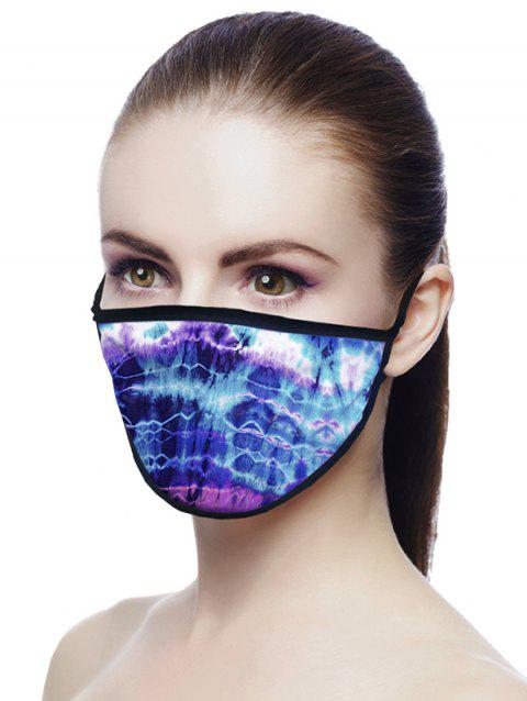 Tie Dye Print Air Layer Fabric Face Mask