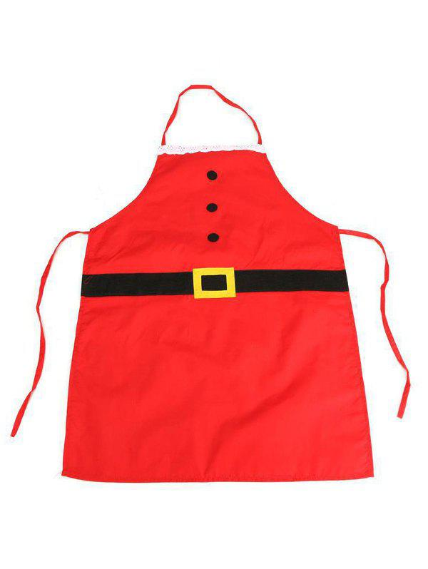 Christmas Accessories Party Apron - multicolor A