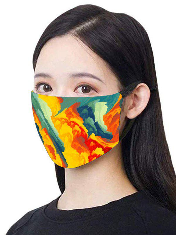 Patterned PM2.5 Breathing Mask - multicolor C