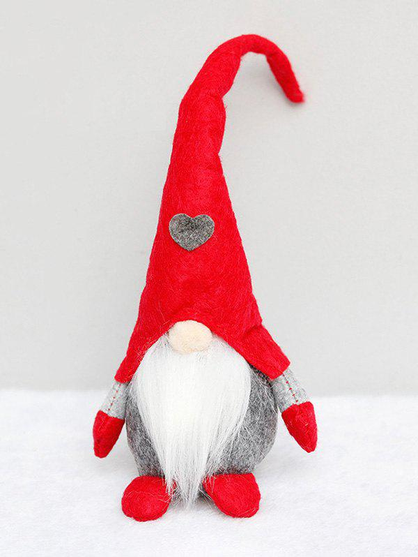 Christmas Decorations Doll Standing Forester Stuffed Toy - multicolor B