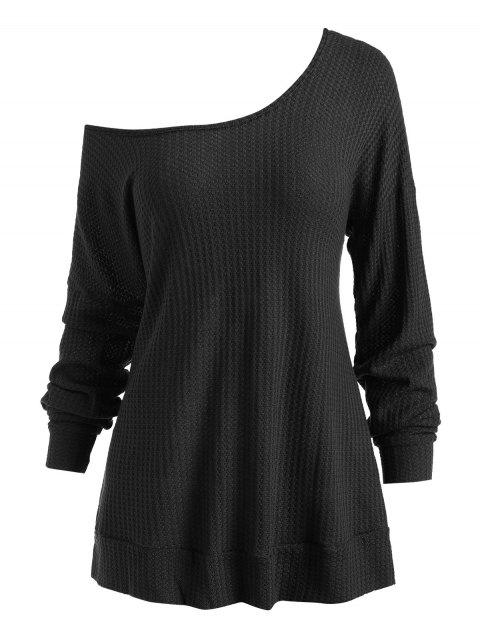 Hooded Drop Shoulder Tunic Knitwear