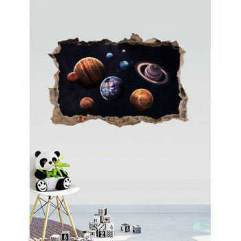 3D Universe Planets Room Decorative Wall Sticker