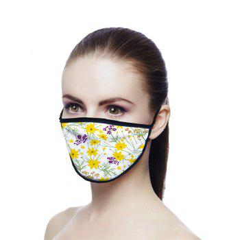 Tiny Flowers Pattern Breathable Face Mask