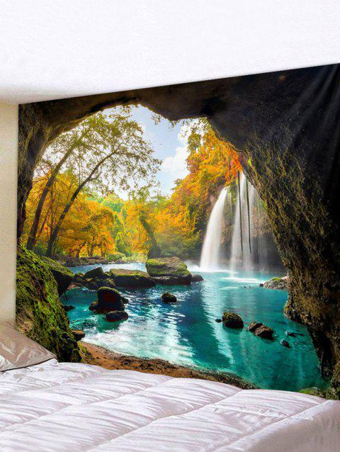Cave Landscape Printed Waterproof Wall Tapestry