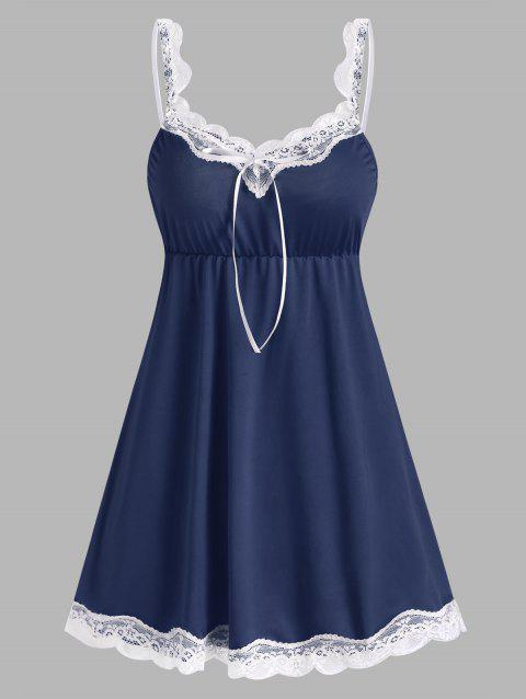 Lace Panel Night Dress