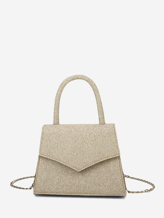 Envelope Chain Cover Handbag - KHAKI
