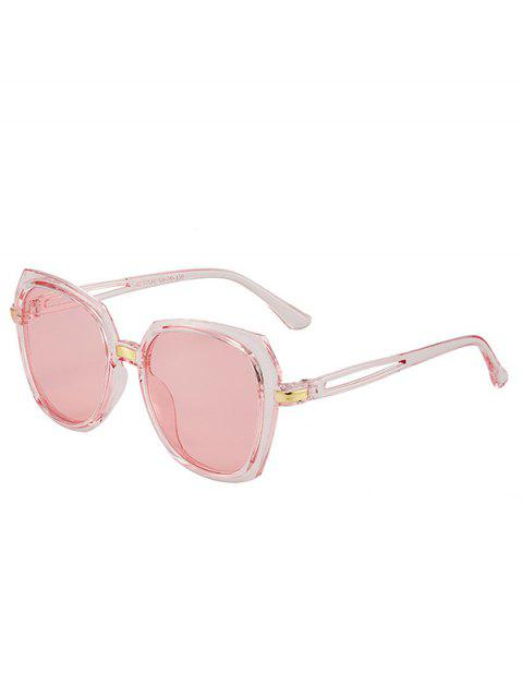 Irregular Hollow Out Temple Sunglasses