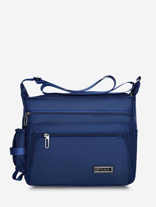Leisure Business Rectangle Shoulder Bag - BLUE