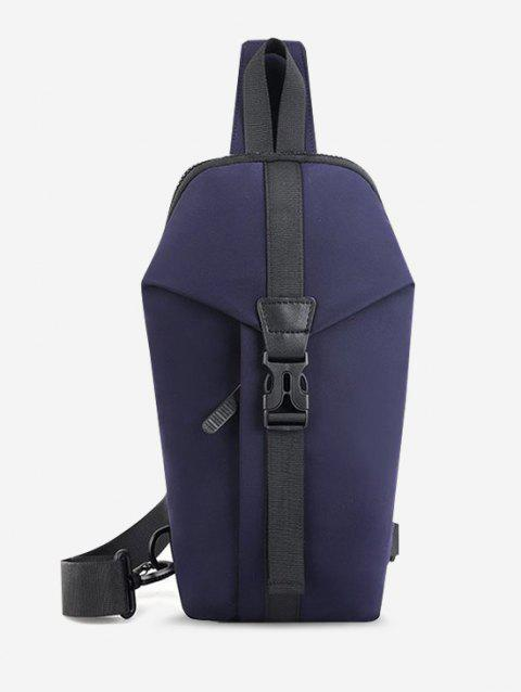 Casual Multi-function Travel Buckle Chest Bag