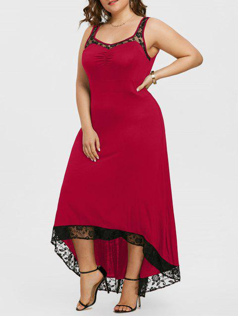 Plus Size High Low Party Maxi Dress