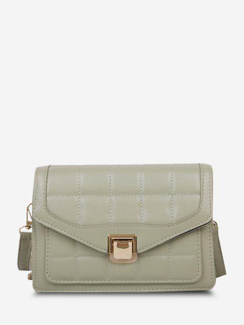 Quilted Double Strap Crossbody Bag
