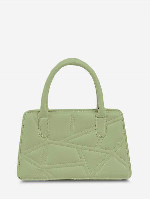 Quilted Top Handle Chain Crossbody Bag