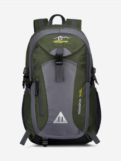 Travel Outdoor Colorblock Backpack