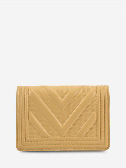 Chain Zigzag-Quilted Flap Crossbody Bag