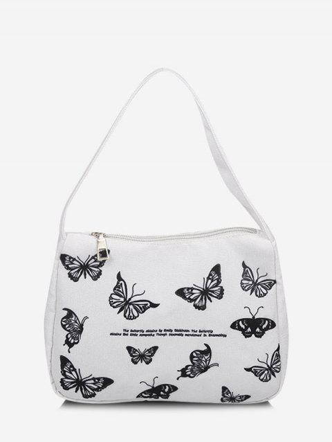 Butterfly Print Tote Bag