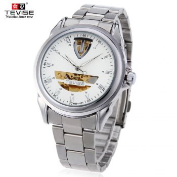Tevise M554 - 001 Male Automatic Mechanical Watch Tourbillon Luminous 3ATM Water Resistance Wristwatch