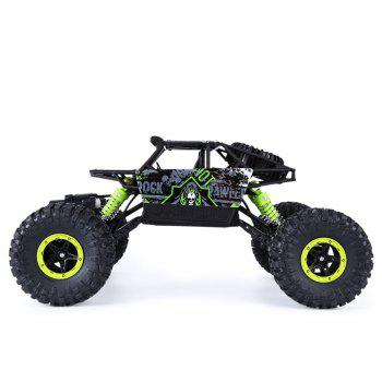HB P1801 2.4GHz 1:18 Scale RC 4 Wheel Drive Toy Car - GREEN EU PLUG