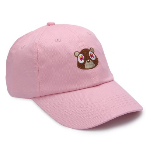 Sweet Pure Color Baseball Hat for Unisex - PINK