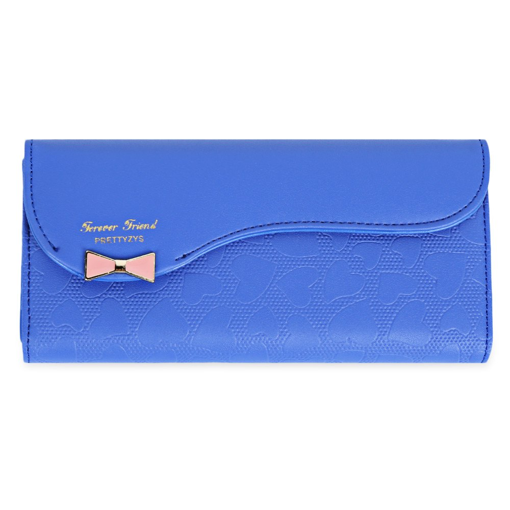 Bowknot Cute Love Girls Long Wallet Purse