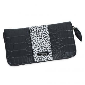 Large Capacity Zipper Women Clutch Wallet