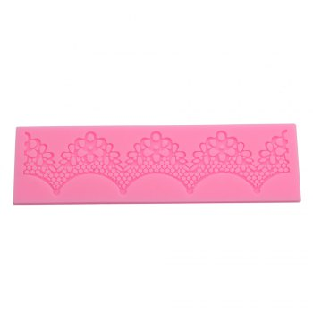 Creative Lace Flower Vine Pattern Silicone Fondant Cake Decoration Mold