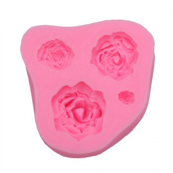 Rose Pattern Cake Fondant Baking Tool Dessert Decorating Mold