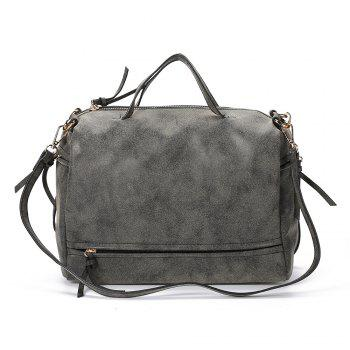 Guapabien Brief Style Pure Color Women Convertible Shoulder Bag